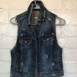 Jean vest - American Eagle - small